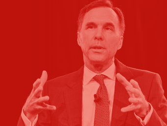 Le ministre des Finances du Canada Bill Morneau