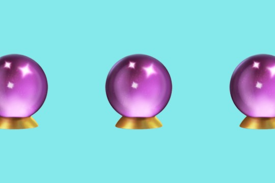 Crystal ball emoji repeated