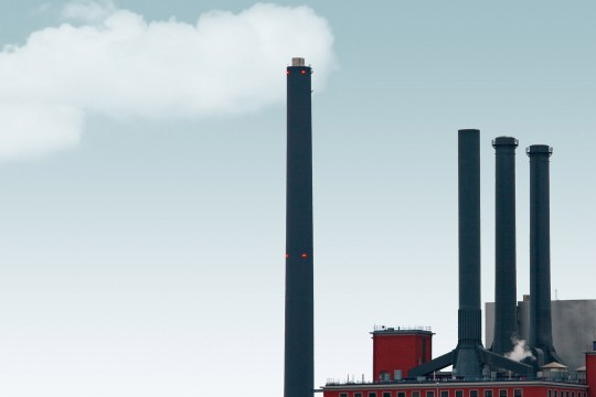 Industrial building chimneys