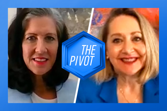 The Pivot: Cathy Hecimovich and Jane Taber