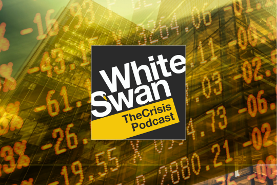 Logo du balado White Swan: The Crisis Podcast