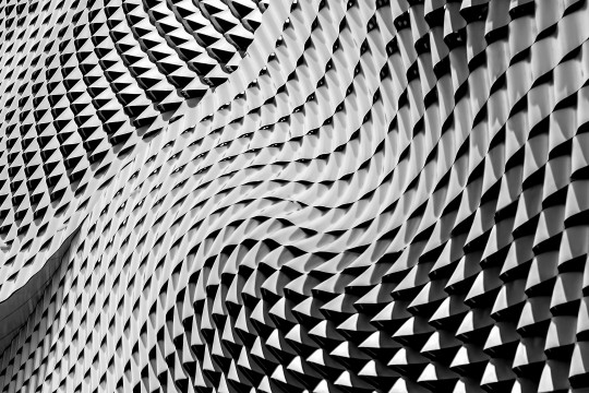 Computer generated imagery black and white wave