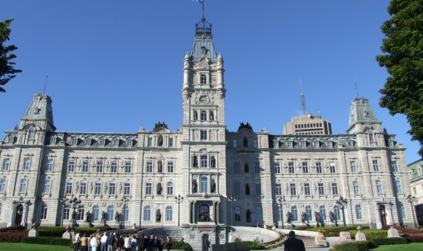 National Assembly of Québec viewed from outside