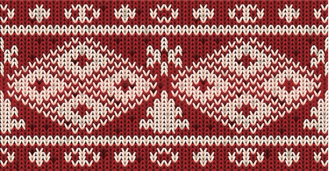 Holiday sweater pattern